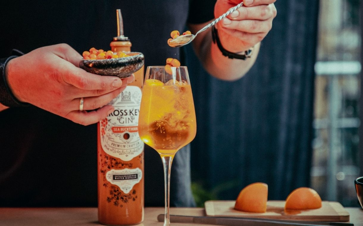 Amber Beverage Group unveils sea ​​buckthorn gin