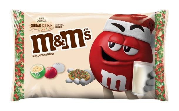 Mars debuts limited-edition sugar cookie-flavoured M&M's