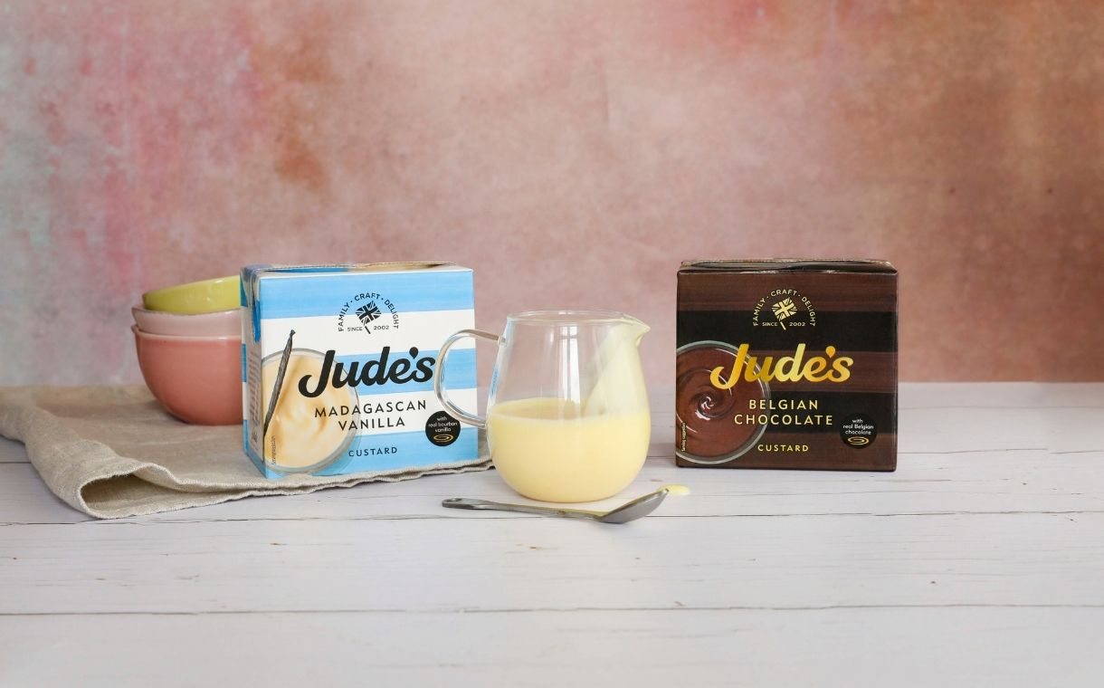 Jude's debuts new custards and vegan ice cream products