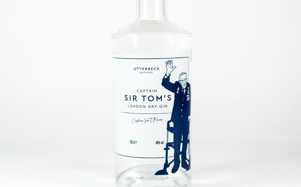 Otterbeck Distillery unveils Captain Sir Tom London Dry Gin