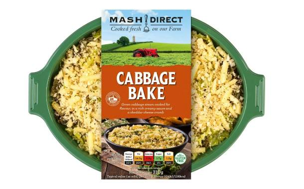Mash Direct debuts cabbage bake