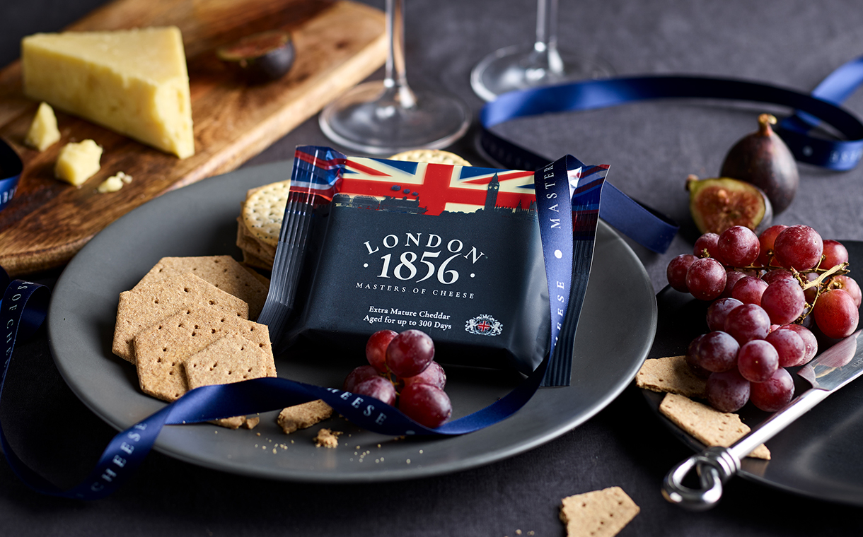 Wyke Farms launches London 1856 cheese brand for export