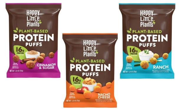 Hormel Foods releases plant-based protein puffs