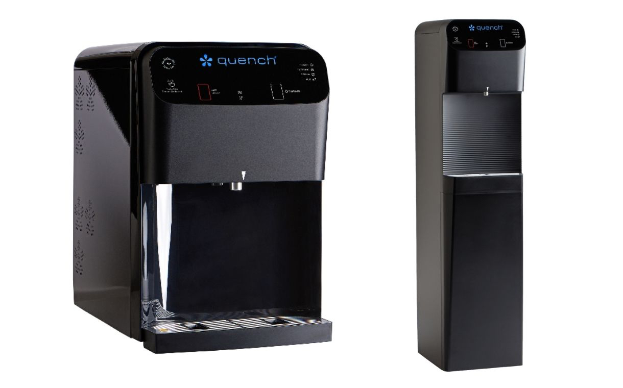 Quench introduces water cooler with touchless dispensing