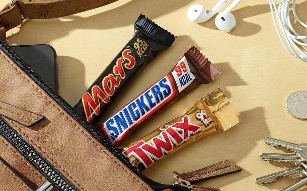 Mars Wrigley unveils 100 calorie Mars, Snickers and Twix bars