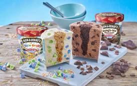 Ben & Jerry's debuts new Cookie Dough Twist tubs