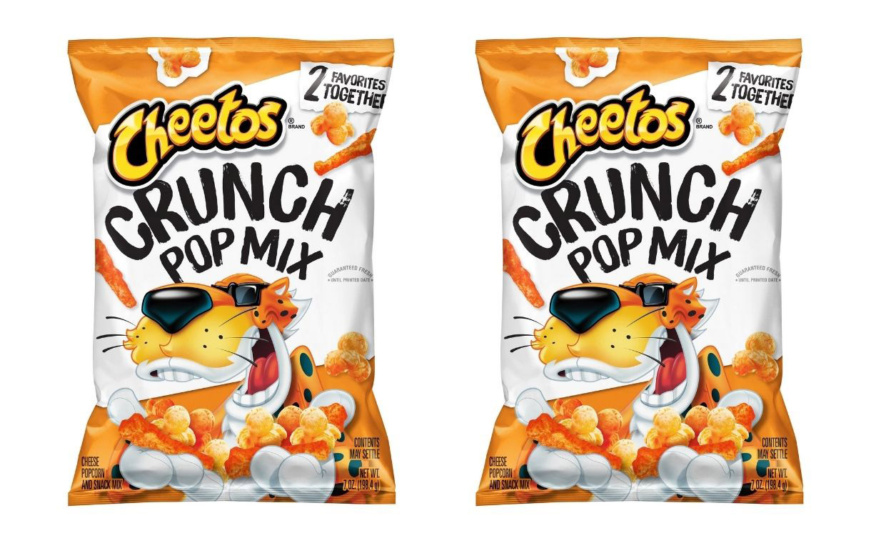 PepsiCo releases new Cheetos Crunch Pop Mix
