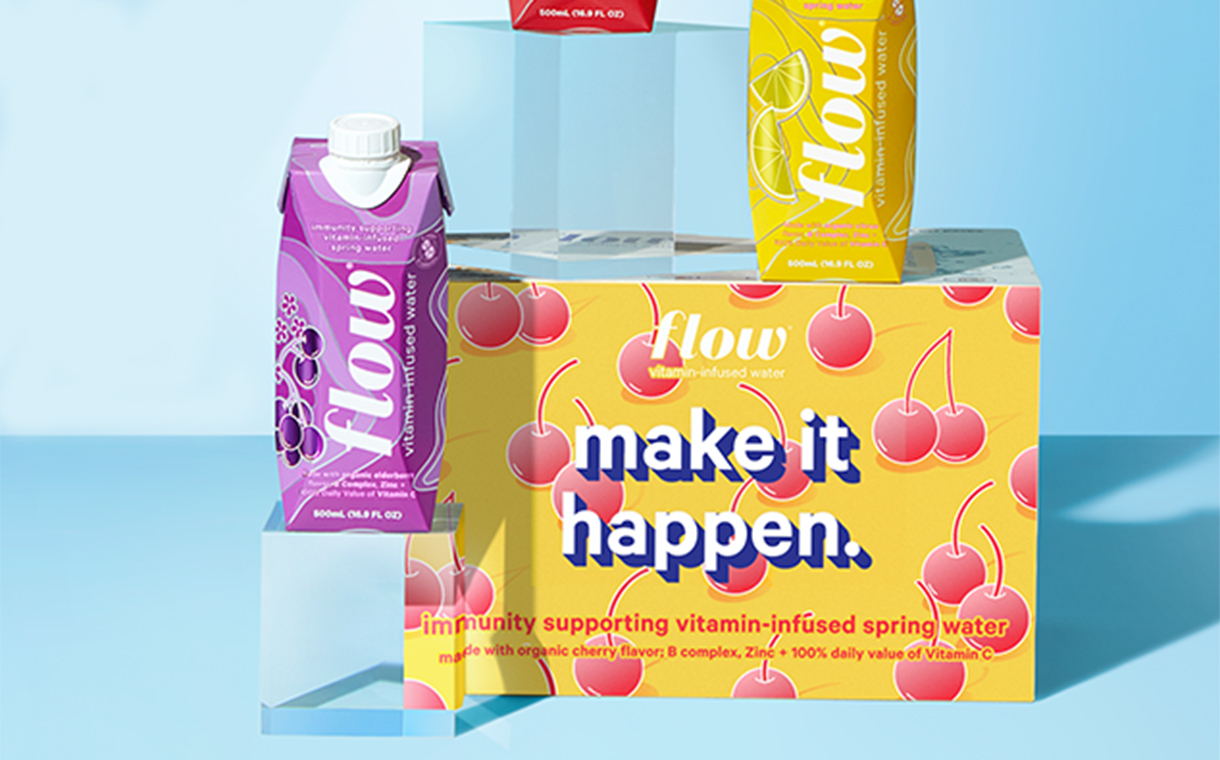 Flow to introduce new vitamin-infused water line