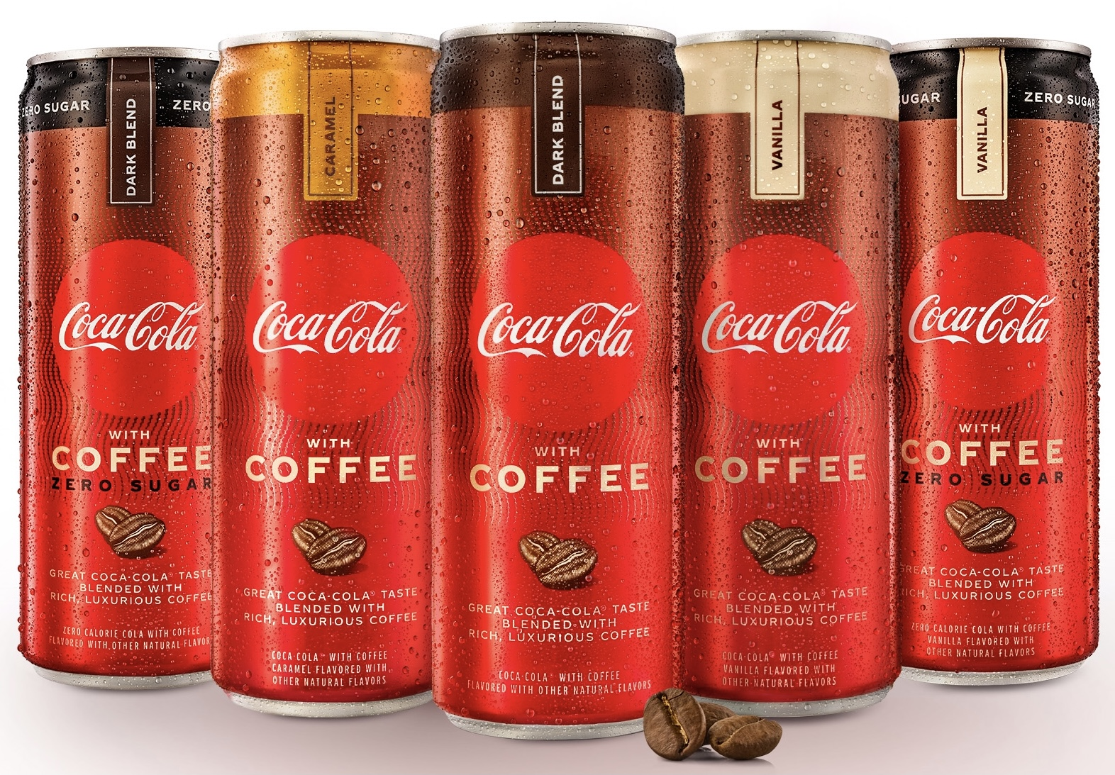 Coca-Cola launches coffee-infused soft drinks in the US