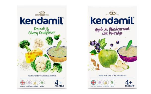 Kendamil debuts broccoli and cheesy cauliflower cereal in UK