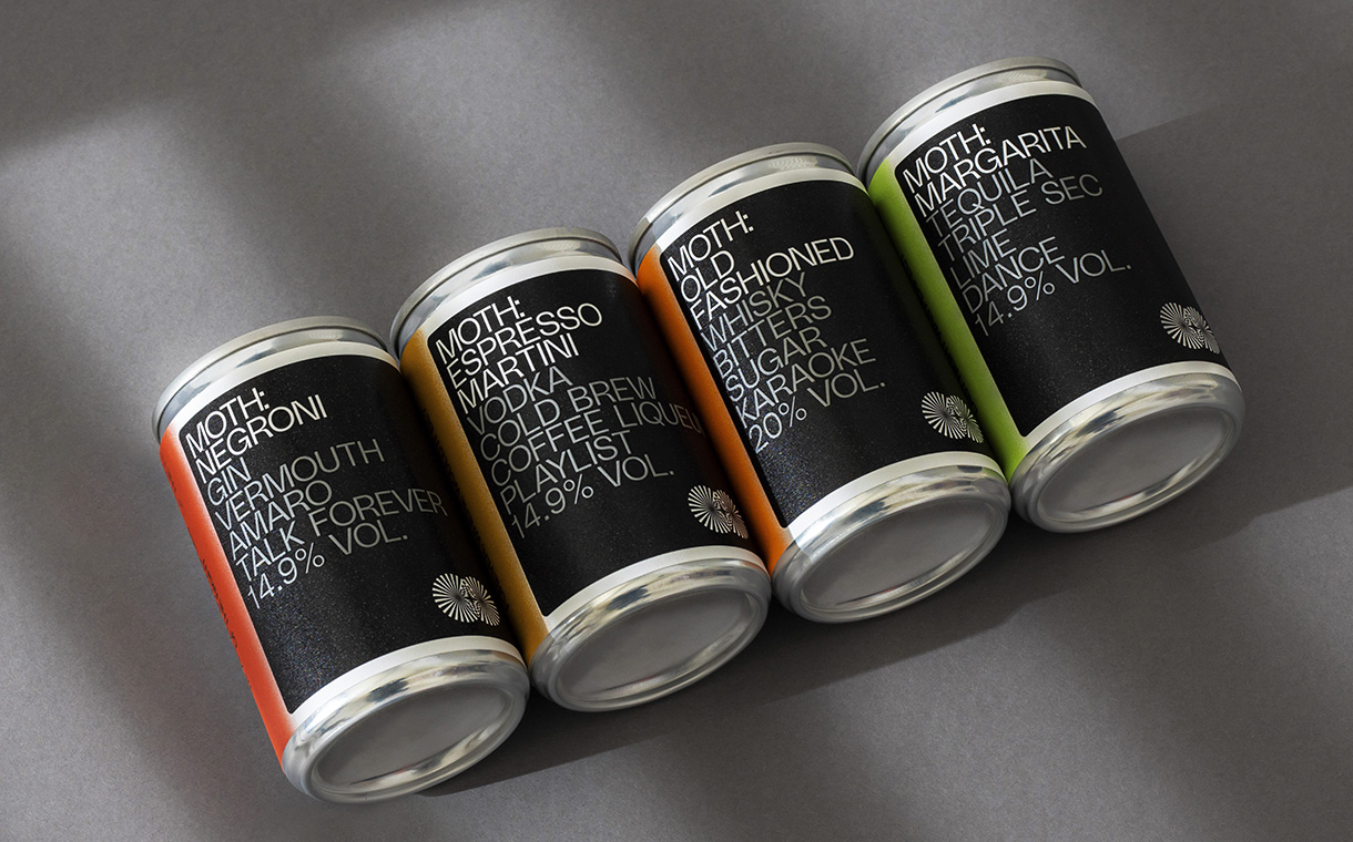 MOTH to release RTD canned classic cocktails in UK