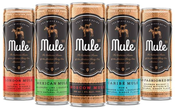 Mule 2.0 adds four new canned cocktails to line-up