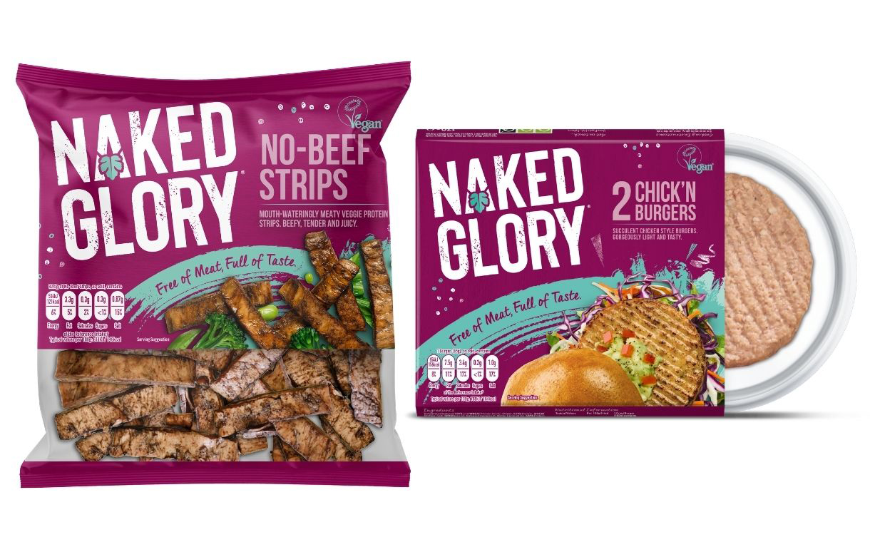 Kerry Foods adds two new vegan products to Naked Glory line-up