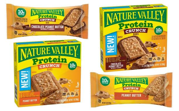 General Mills adds Protein Crunch bars to Nature Valley range