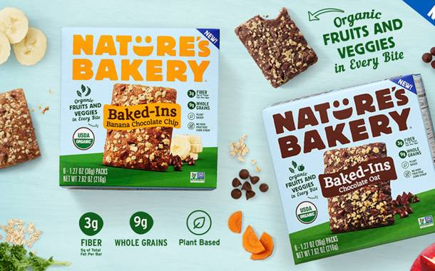 Nature's Bakery launches baked bars with hidden fruit and vegetables