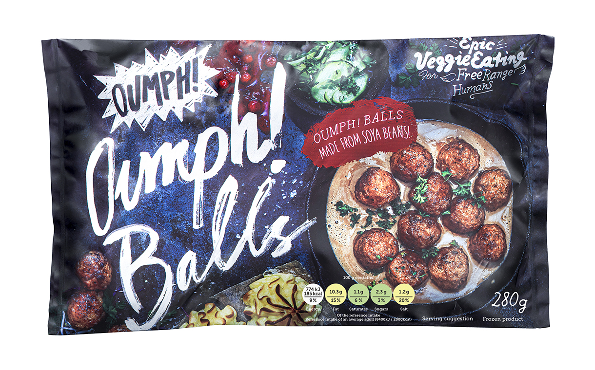 Oumph rolls out vegan meatballs in Ocado