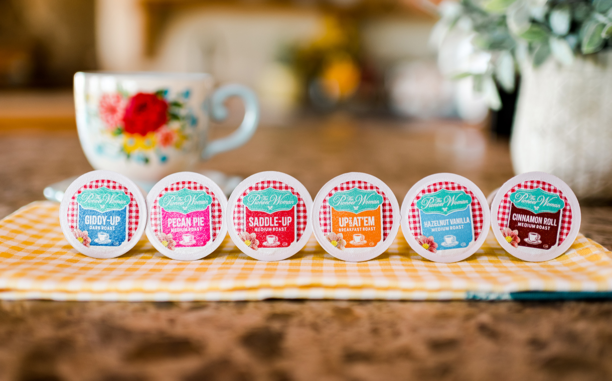 The Pioneer Woman releases single-serve coffee cups in US
