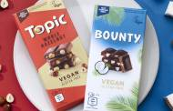 Mars unveils vegan versions of Bounty and Topic chocolate bars