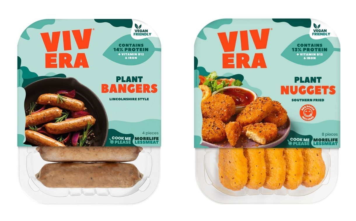 Vivera unveils vegan sausage and nugget products