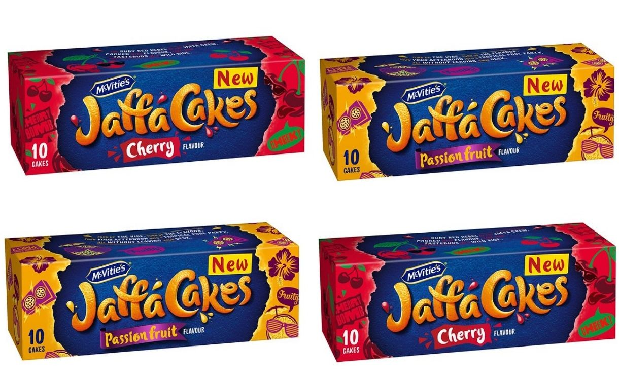 Pladis releases new Jaffa Cakes flavours