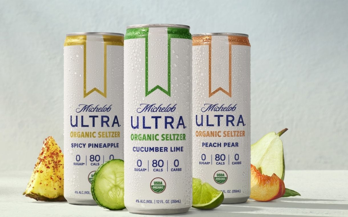 Michelob Ultra debuts organic hard seltzers