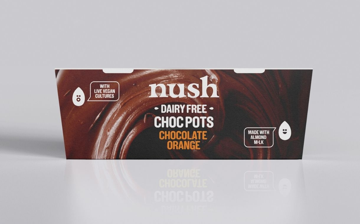 Nush unveils plant-based almond milk Choc Pot