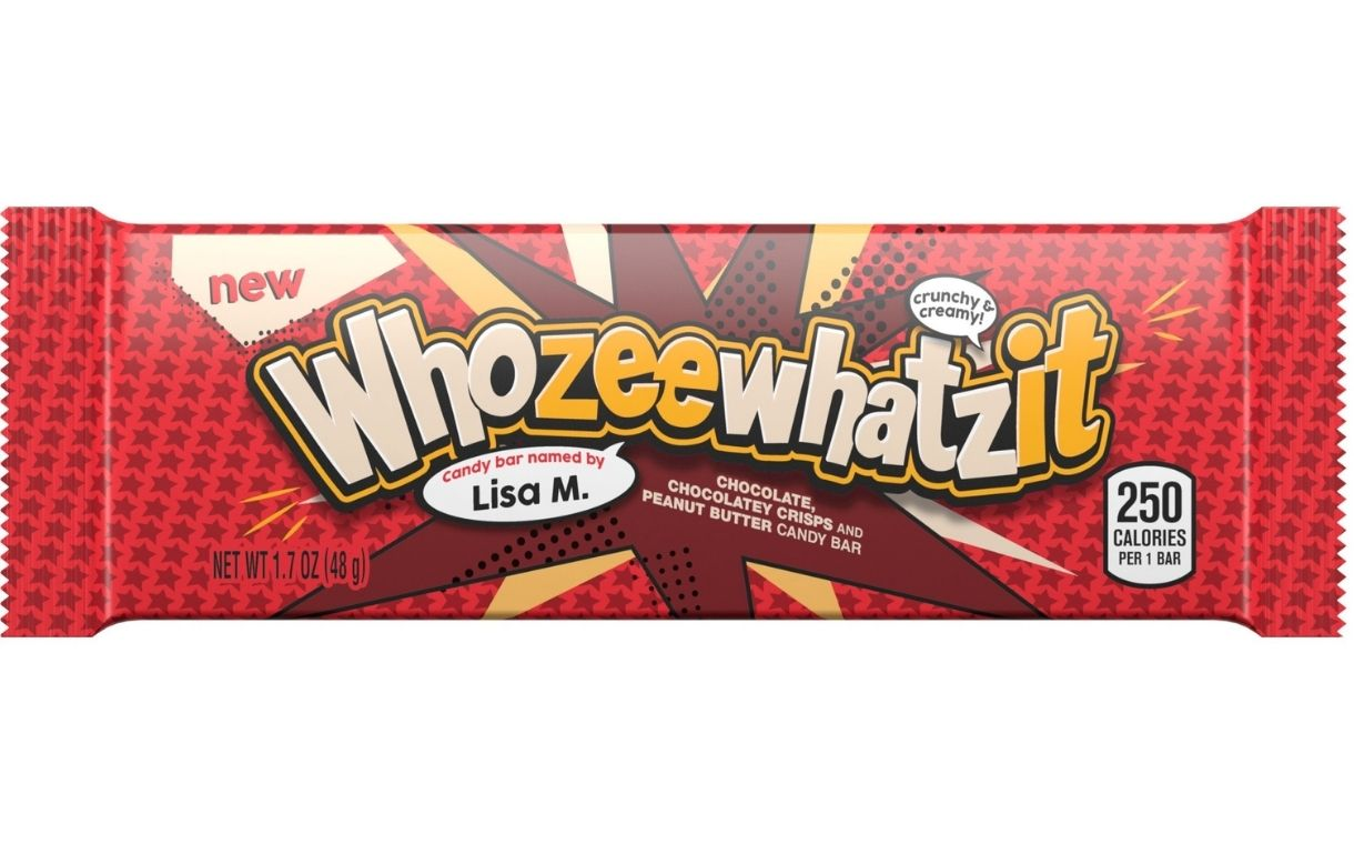 Hershey to debut Whozeewhatzit bar in US