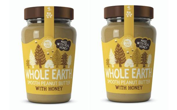 Whole Earth unveils new peanut butter with honey