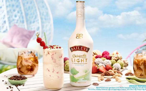 Diageo introduces new Baileys Deliciously Light