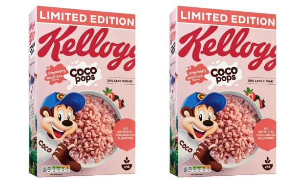 Kellogg's to release limited-edition pink Coco Pops