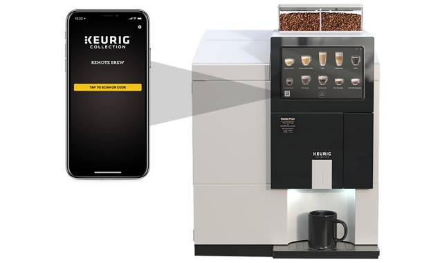 Keurig Commercial introduces touch-free coffee brewing features