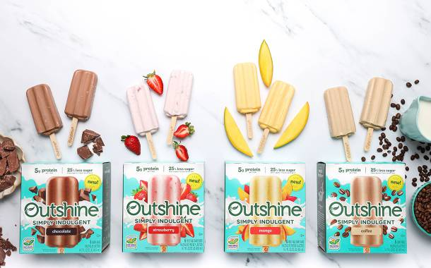 Outshine debuts new Simply Indulgent frozen bars