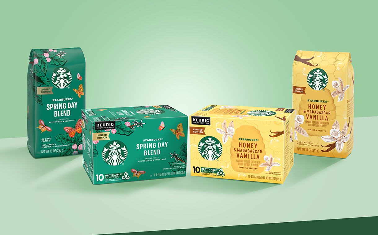 Nestlé launches new Starbucks spring coffees in US