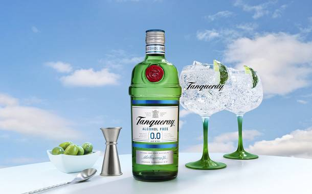 Diageo unveils alcohol-free Tanqueray gin variant