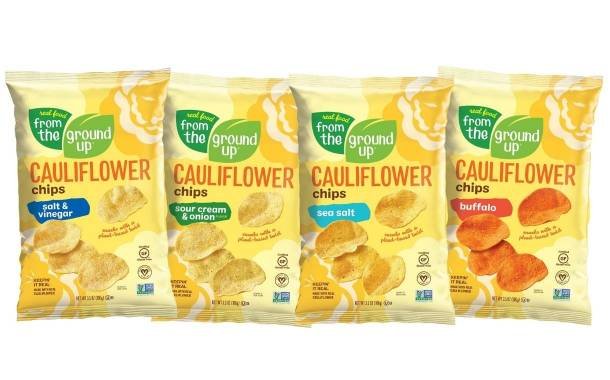 Real Food From The Ground Up unveils new cauliflower snacks