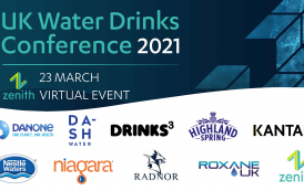 UK water drinks industry floods to online event