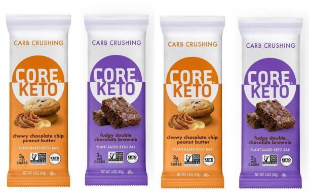 Core Foods expands bar line-up with new keto-friendly offerings