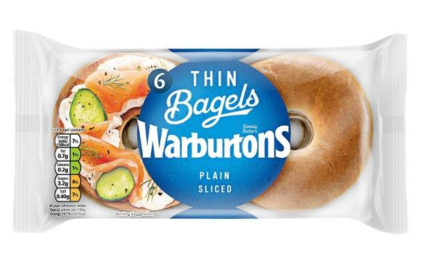 Warburtons to boost bagel capacity with new £18m plant
