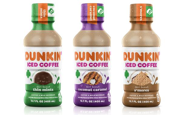 Dunkin' Donuts releases cookie-inspired RTD iced coffees across US