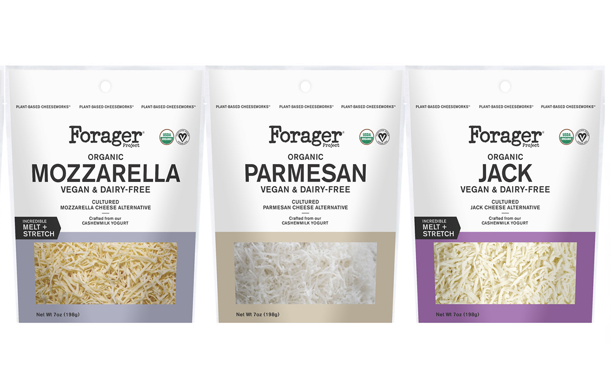 Forager Project debuts line of organic vegan cheeses