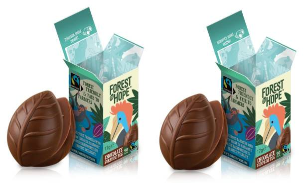 New brand Forest of Hope launches chocolate surprise eggs