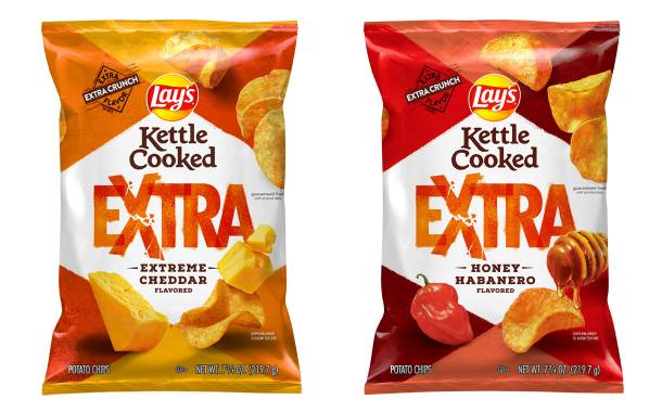 PepsiCo's Lay's brand launches Kettle Cooked Extra range