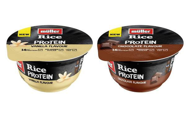 Müller Rice launches new high protein line in UK