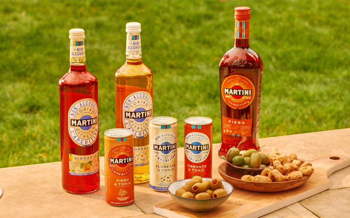 Bacardi unveils new ready-to-drink Martini products