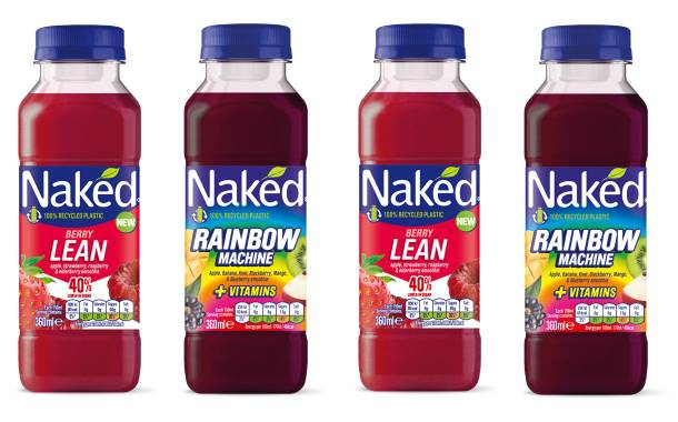 PepsiCo's Naked Juice brand launches two new smoothies in UK
