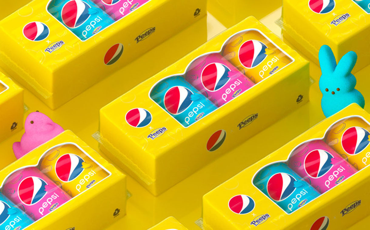 Pepsi and Peeps to launch limited-edition marshmallow cola