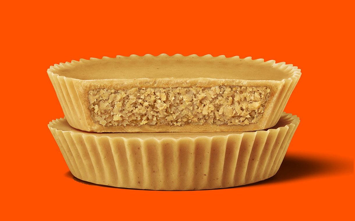Hershey debuts Reese's Cups that are 100% peanut butter
