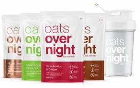 Drinkable oatmeal brand Oats Overnight secures $2m in funding
