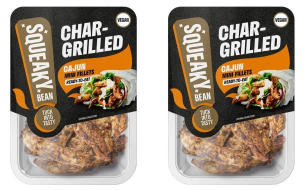 Squeaky Bean launches plant-based Chargrilled Mini Fillets