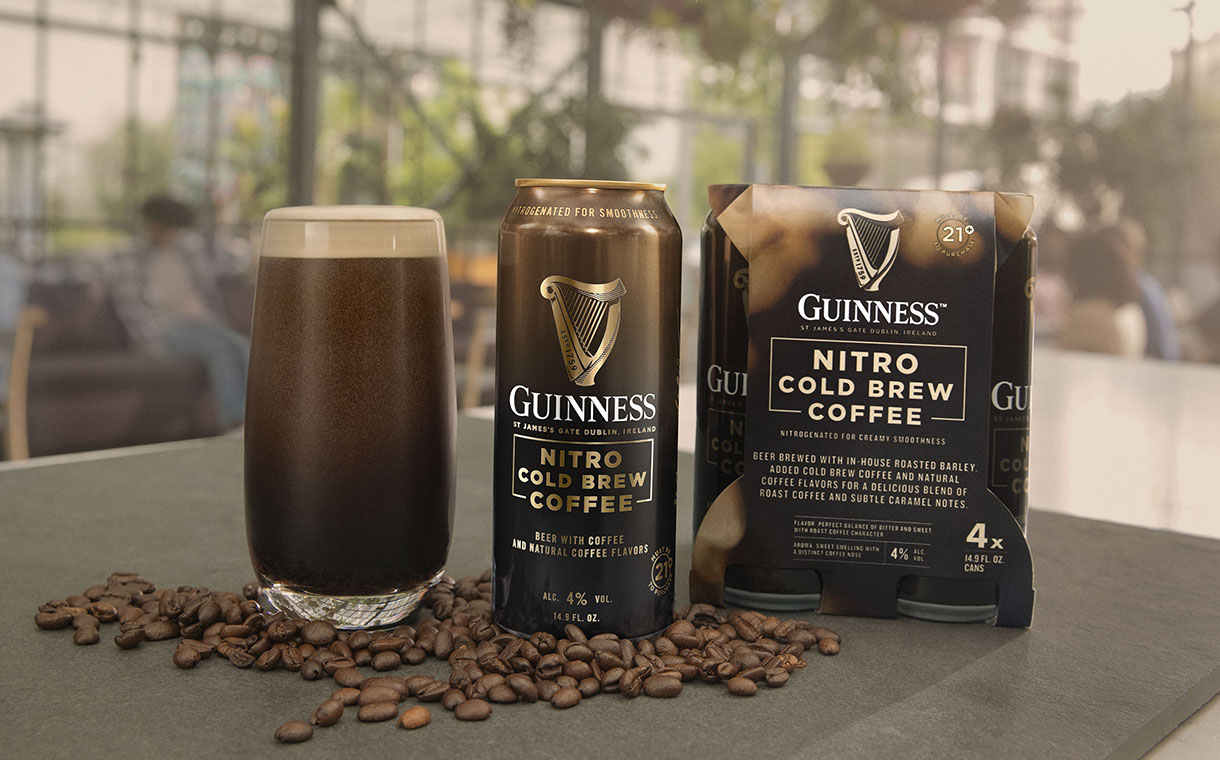 Diageo introduces Guinness Nitro Cold Brew Coffee
